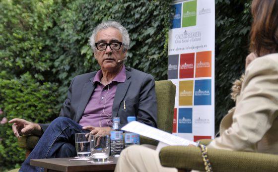 Juan José Millás, hoy en el Hay Festival de Segovia.