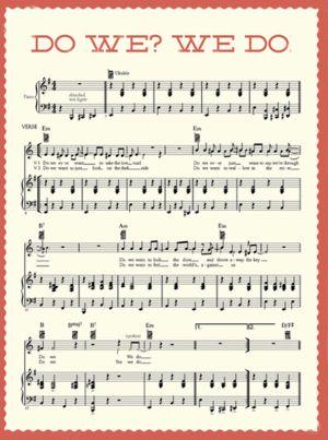 Ilustraciones que acompañarán la publicación de las partituras del disco de Beck en la revista de EE UU McSweeney's.