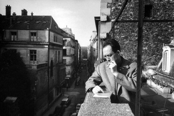 Albert Camus en una imagen de 1955.