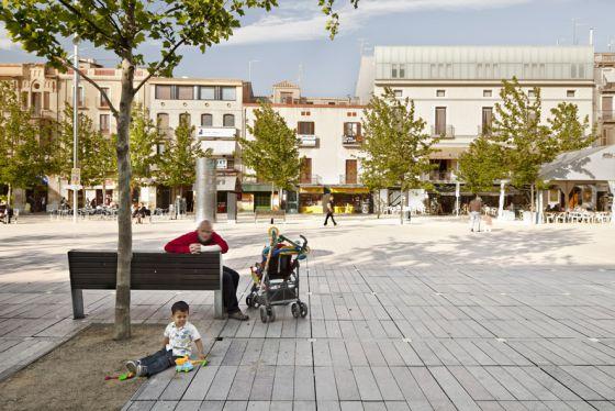 La plaza de Vilafranca del Penedés, del estudio Vora Arquitectura