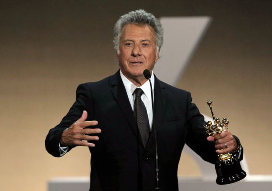 Dustin Hoffman recoge el Premio Donostia