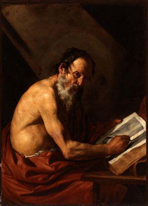 'San Jerónimo escribiendo', obra de Ribera