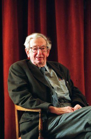 El historiador británico Eric Hobsbawn, en una imagen de 2003.