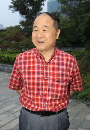 El escritor chino Mo Yan.