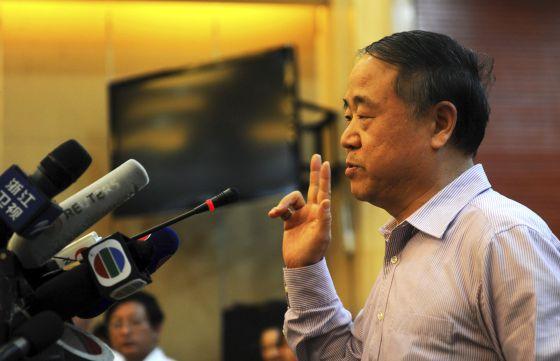Mo Yan pide la liberación del Nobel de la Paz Liu Xiaobo