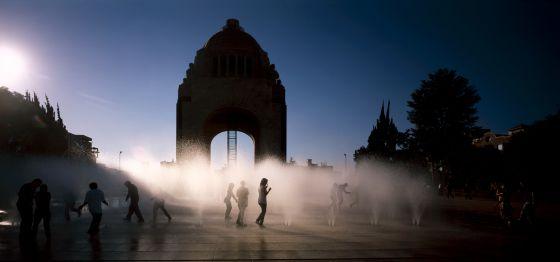 Corredor peatonal Francisco I. Madero, en el centro histórico de Ciudad de México, obra de los arquitectos Felipe Leal Fernández y Daniel Escotto Sánchez.