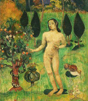 'Eva exótica', de Gauguin.
