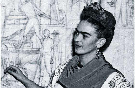 Frida abre sus armarios
