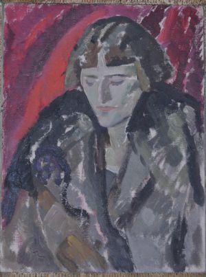 Retrato de María Blanchard, de Tora Vega Holmström