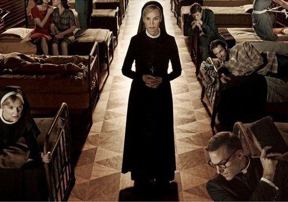 Cartel promocional de 'American Horror Story: Asylum'
