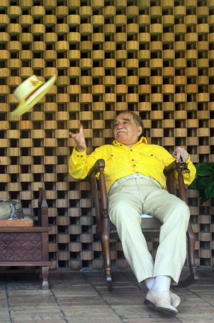 Gabriel García Márquez en su casa © Daniel Mordzinski