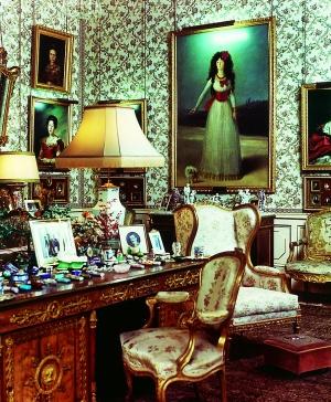 El retrato de Goya a la duquesa Cayetana, que estará en la exposición.