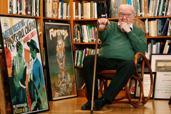 José Luis Borau, fotografiado en noviembre de 2008.