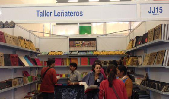 Imagen del stand de Taller Leñateros.