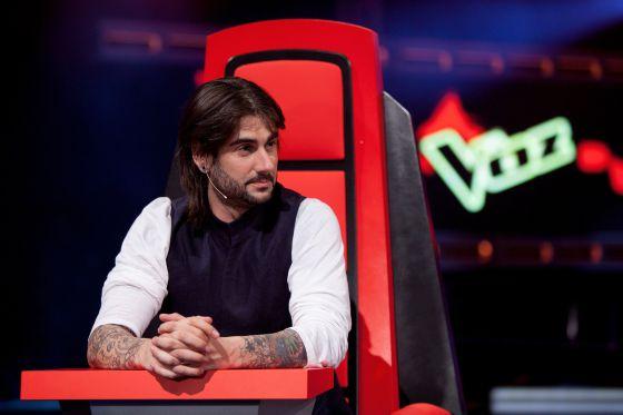 El cantante Melendi, uno de los jurados del concurso 'La voz'.