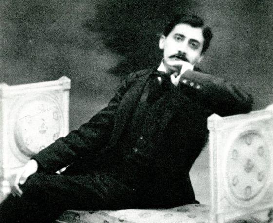 El escritor Marcel Proust.