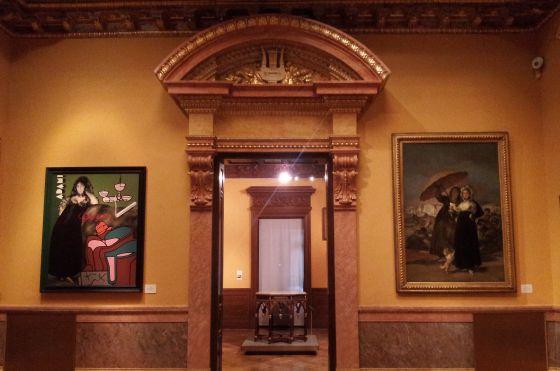 Goya contrastado en el Lázaro Galdiano.