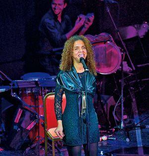 Danays, en el concierto de mayo.
