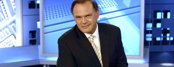 Pedro Piqueras, director de Informativos de Telecinco.