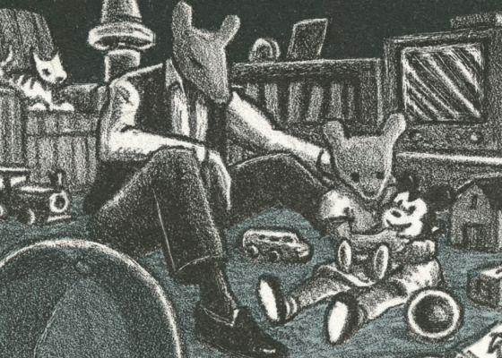 'El pasado se cierne sobre el futuro', de 1992, contenida en 'MetaMaus'.