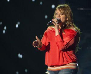 Jenni Rivera, en una actuación en abril. / AP