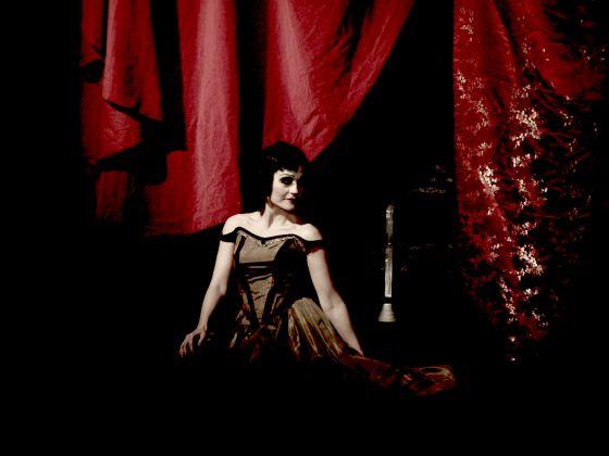 Un momento del musical 'Por los ojos de Raquel Meller'.