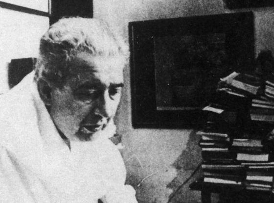 El escritor cubano José Lezama Lima, en sus últimos años.