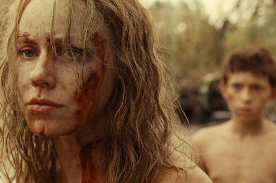 La actriz Naomi Watts en un momento de 'Lo imposible'.