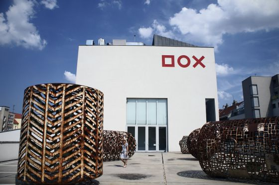 Centro de arte contemporáneo Dox, en Praga.