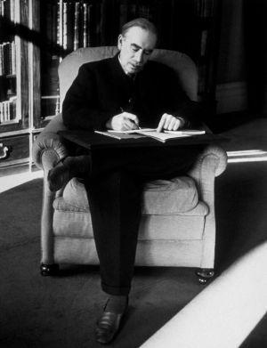 John Maynard Keynes, uno de los grandes protagonistas del libro 'La gran búsqueda', en 1940.