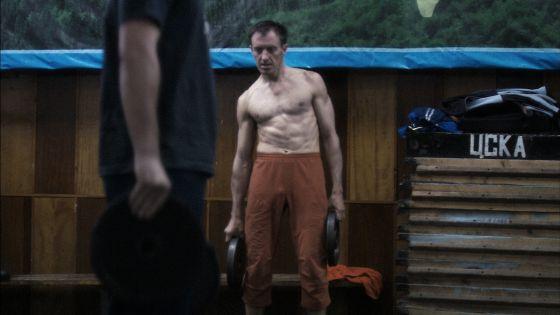El montañero kazajo Dennis Urubko, en uno de sus entrenamientos.