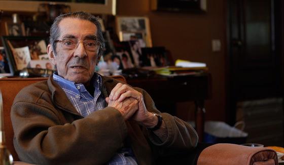 El reportero Enrique Meneses, en 2011.