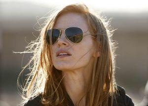 La protagonista de 'La noche más oscura', Jessica Chastain.