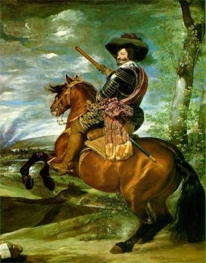 El Conde-duque de Olivares, retrato de Velázquez