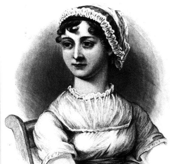 La escritora británica Jane Austen (1777-1817)