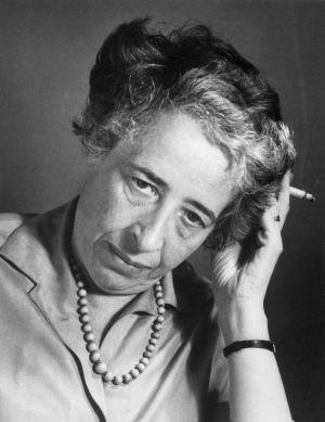Hannah Arendt, en los años 60.