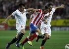 Atlético de Madrid y Sevilla disputan la semifinal de Copa