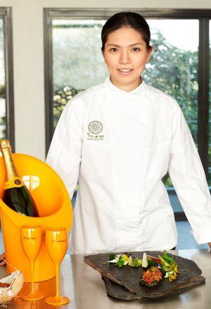 La cocinera tailandesa Duongporn 'Bo' Songvisava.