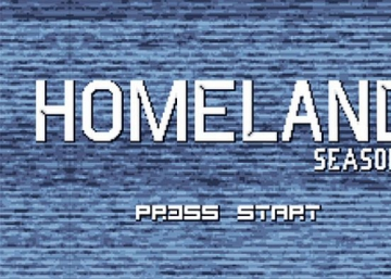 ¿Y si 'Homeland' fuera un videojuego de 8 bits?