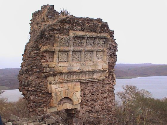 Restos de una misión jesuita junto al lago Tana (Etiopía)