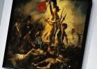 Delacroix, vandalizado en el Louvre de Lens y rehabilitado en una hora