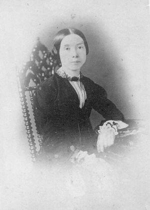 Retrato de la poeta Emily Dickinson ( siglo XIX) subastado en la página Web eBay y del que se cuestiona su autenticidad.