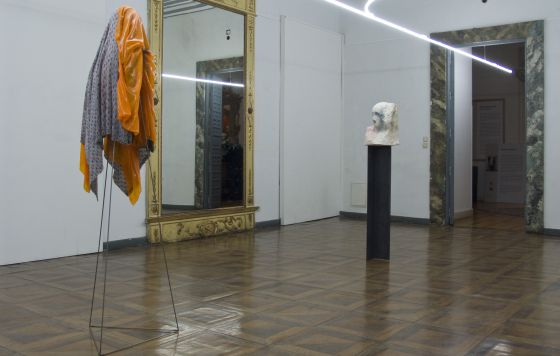 La instalación del artista italiano Patrick Tuttofuoco.