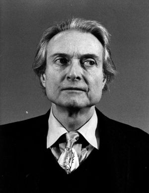 Roy Lichtenstein, en 1983.