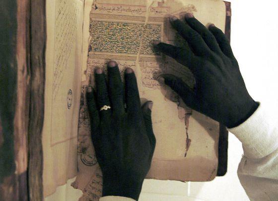 Los manuscritos de la biblioteca del Fondo Katí de Tombuctú (Malí), uno de los grandes legados andalusíes.