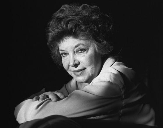 La actriz María Asquerino.