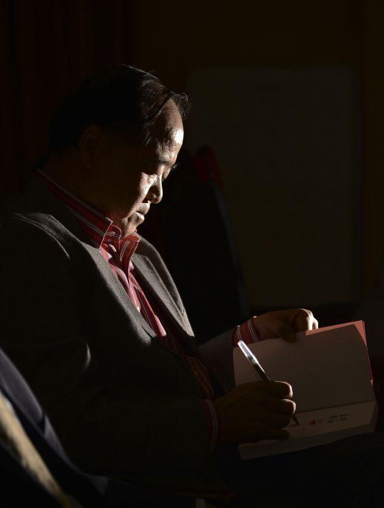 El escritor chino Mo Yan, último Premio Nobel de Literatura.