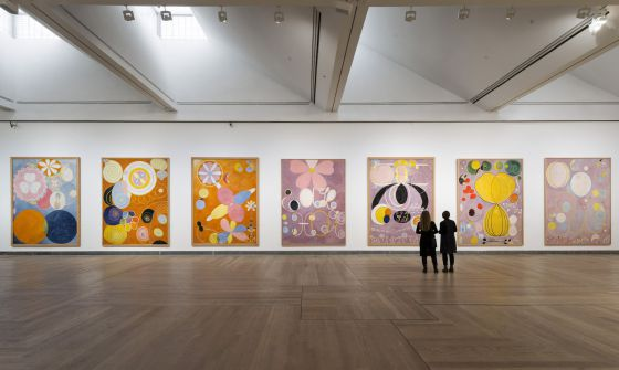 Retrospectiva en el Moderna Museet de Estocolmo de la obra de Hilma af Klint.