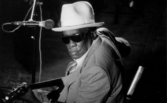 El músico de 'blues' John Lee Hooker.