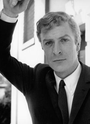 Michael Caine, en el rodaje de 'Alfie' (1966).
